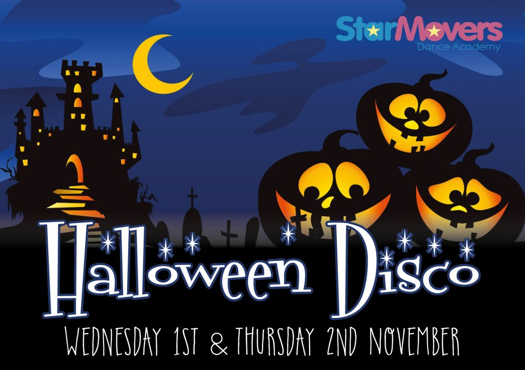 Halloween Disco Banner 2017
