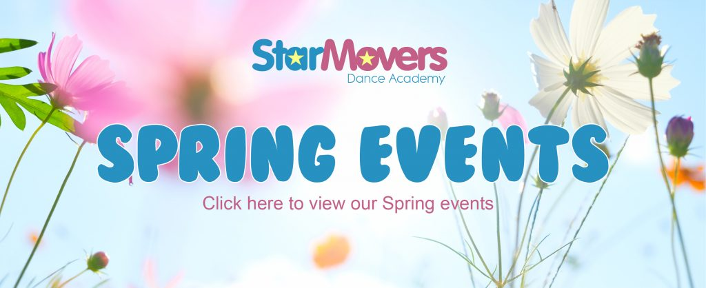 Spring Events Banner
