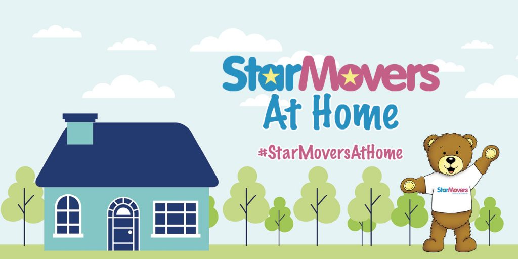 StarMovers at home banner